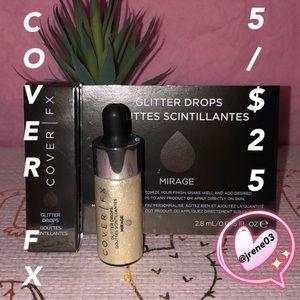 ✨DEAL 5/$25✨ COVER FX Glitter Drops